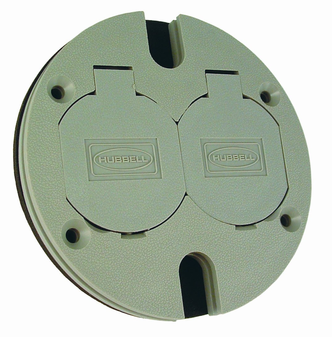 Buy Hubbell Raco 6244 Nonmetallic Round Floor Box Adapter