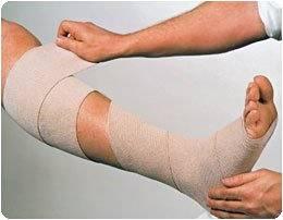 "Rosidal K Short Stretch Bandage - 5.5 yds (5m) long, 2.36"" (6cm), Single Roll"