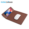 Qi Standard Wireless Charger Mouse Pad Foldable Safe Charging Mat Suitable For iPhone X/8/8 Plus
