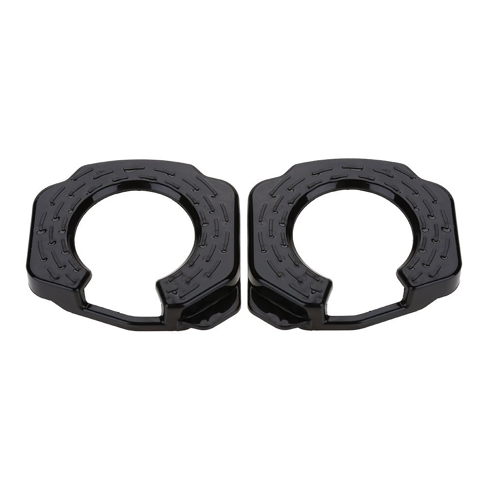 c23dd7e52d Get Quotations · Dilwe 1 Pair Cleats Cover, Plastic Lightweight Action  Cleats Cover Bicycle Shoes Cleat Rubber Cover