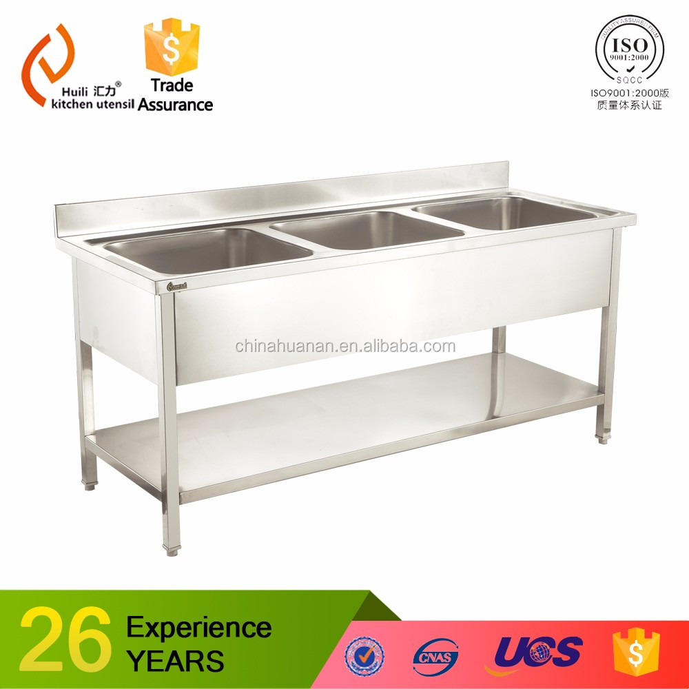 Commercial Hotel Restaurant Stainless Steel Kitchen Sink Cabinet With  Faucets   Buy Stainless Steel Kitchen Sink Cabinet,Hotel Restaurant  Stainless Steel ...