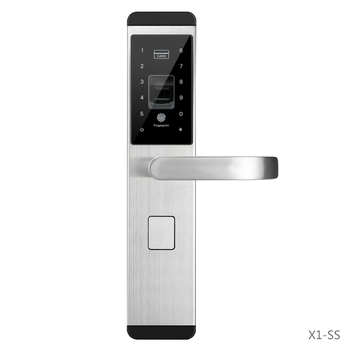 Chinese Reasonable Economy Price High Quality Fingerprint Scanner Door Lock