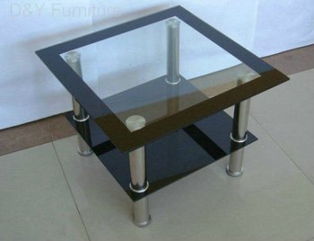 High Quality Low Price Fashion Design Furniture Glass Center Table