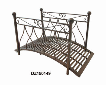 Metal Garden Stylish Iron Bridge For Sale