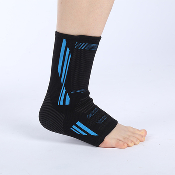 Outdoor Activities Black  Colored Elastic Ankle Support