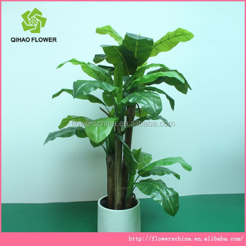 office and house dressing plastic artificial plants tree with best