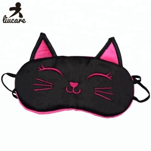 Cute Blindfold Cat Sleep Eye Mask For Girls