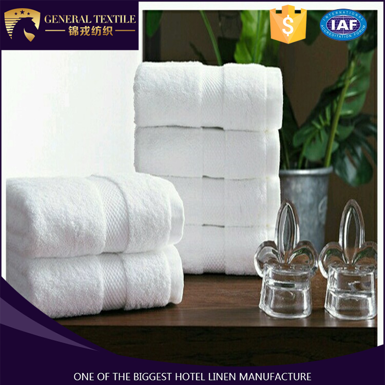 Spa and hotel 16s satin band hand towels wholesale