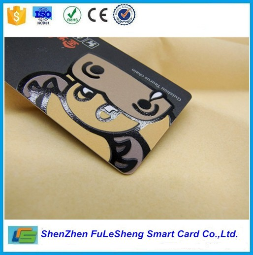 UV finished PVC card full color printing membership standard card