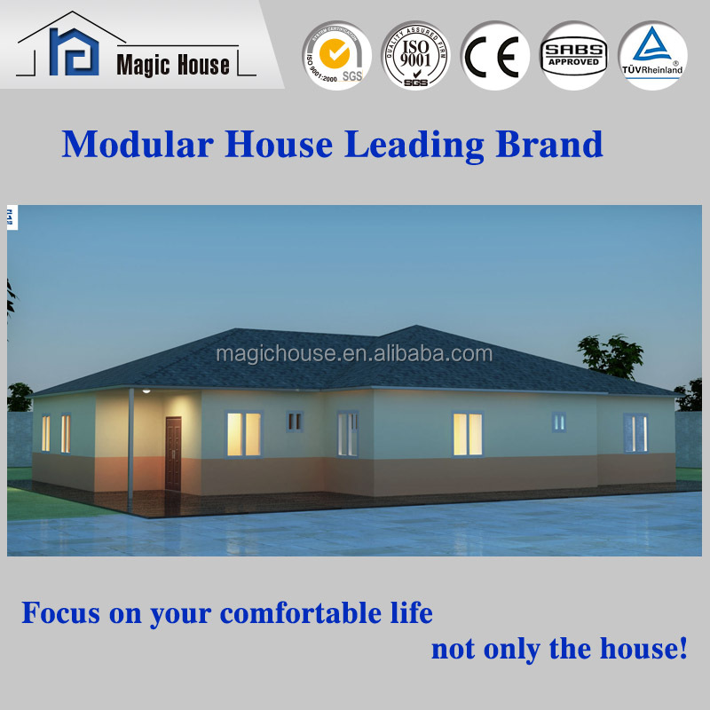New technology in prefab house manufacturing field ready made house homes reliable manufactures from China