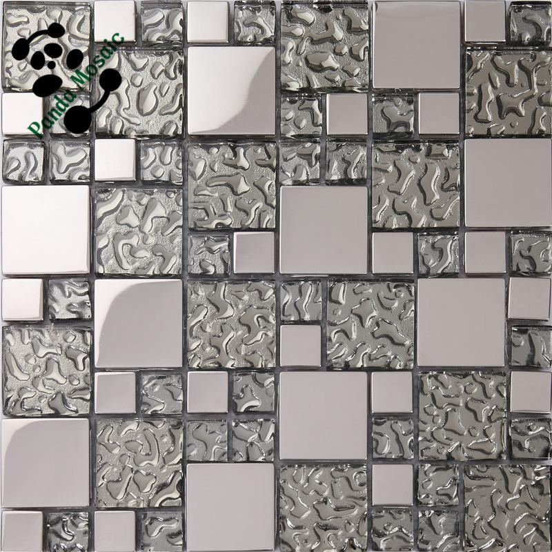 Smp22 barato precio de encargo cuadrados de mosaico de - Precio del vidrio ...