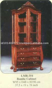 Bombe Cabinet Mahogany Indoor Furniture - Buy Cabinet,Wooden ...