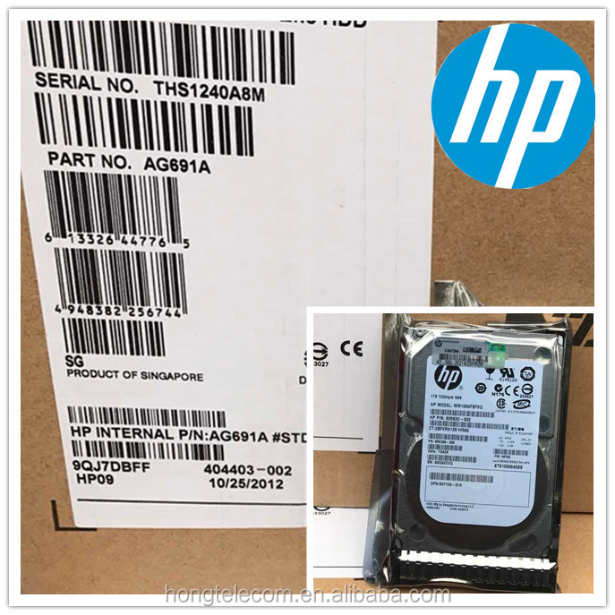 Storage Hard Disk 3TB SAS 7.2K Enterprise Storage Hard Drive QK703A 656102-001 for HP