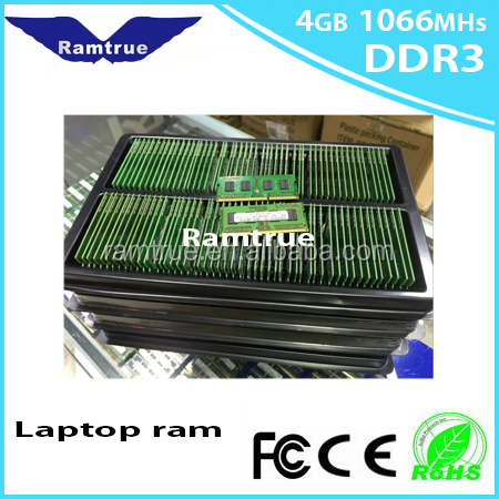 Ramtrue supply ram memory laptop ddr3 2gb/4gb 667mhz ram