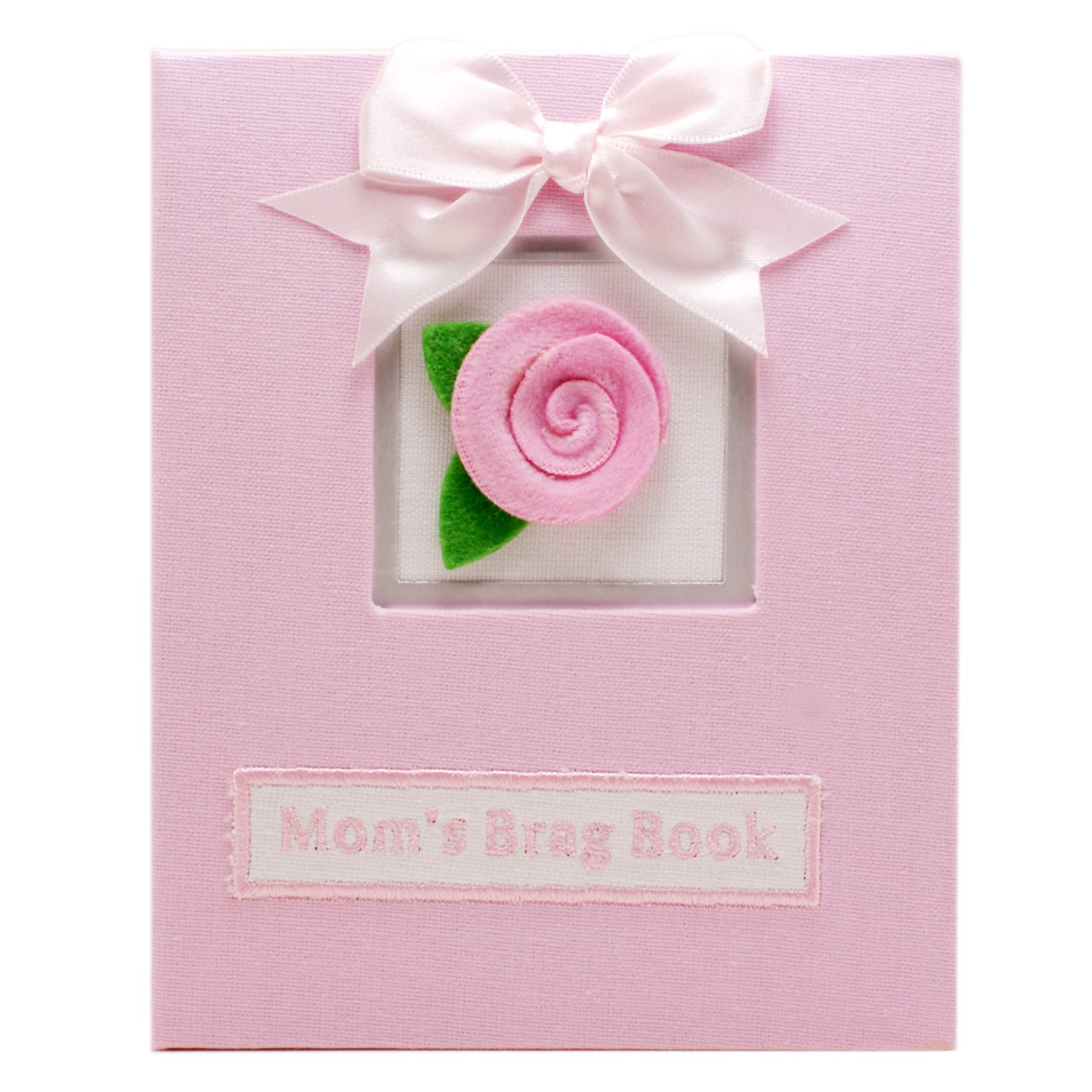"Mom's Brag Book Mother's Flip Photo Album - Holds 36 Standard-Sized 4""x6"" Photos by Stephan Baby"