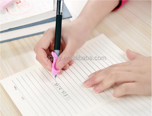 Del держатель для карандаша практическое устройство держатель ручки Postures Grip