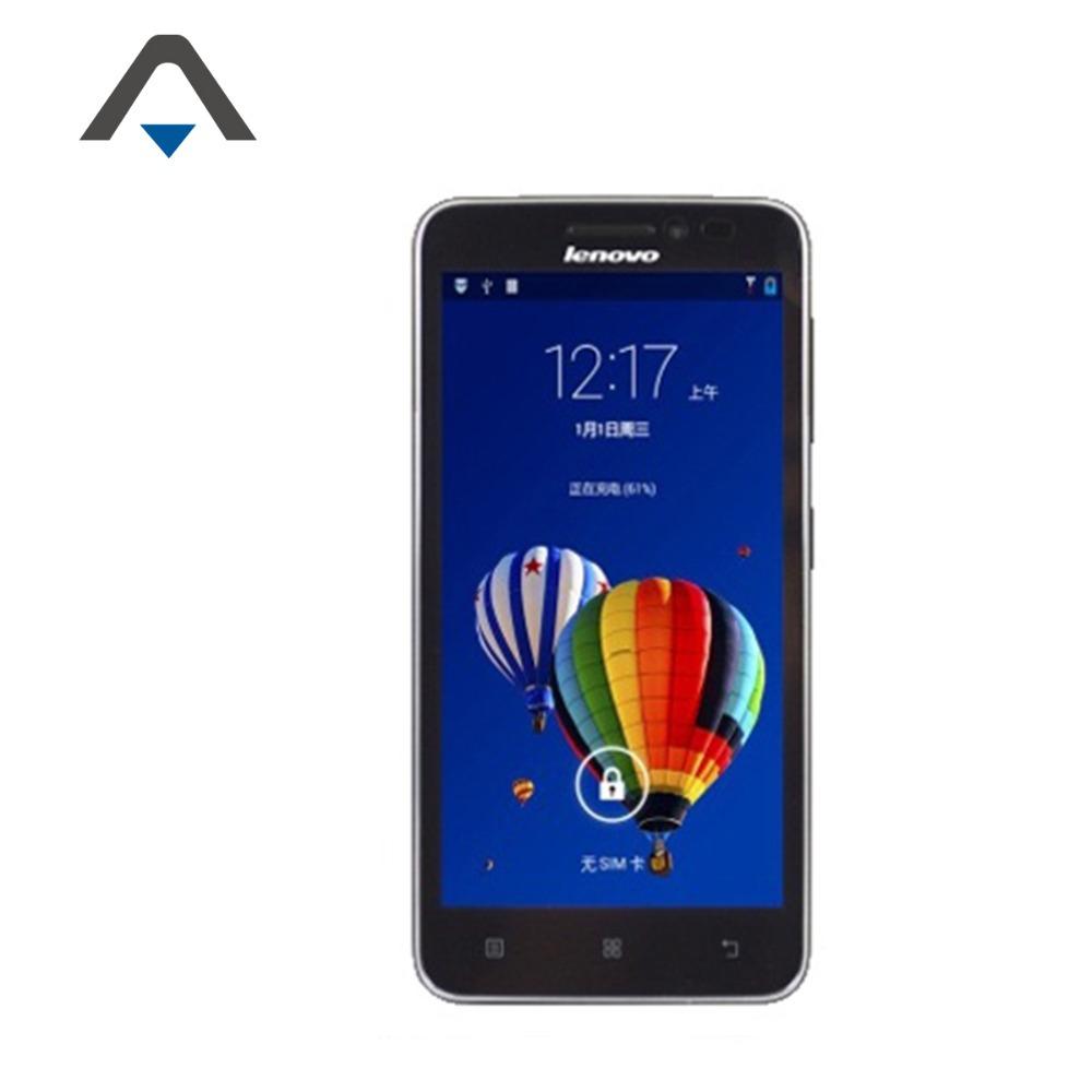 Original Lenovo A606 MTK Quad Core 1 3GHz 5″ 854×480 Android 4 4 5MP Camera  4G ROM 3G Smartphone