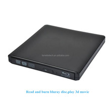 USB 3.0 DVD Player Bluray Burner External Optical Drive BD-RE Blu-ray Superdrive CD/DVD RW Writer Recorder for Laptop iMACbook