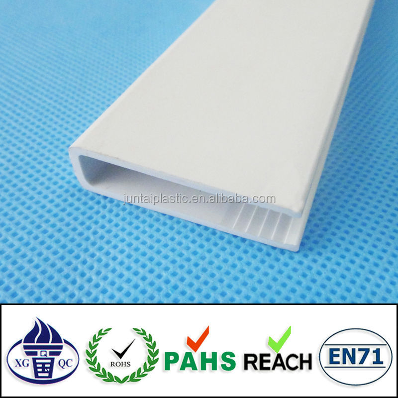 extrusion PVC plastic U profile for construction