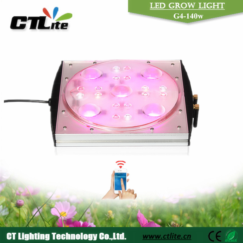 ctlite G4 app control led battery powered grow lights high power 780nm led
