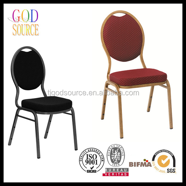 Apilable banquete de hotel sillas de metal identificaci n for Chair 9 hotel