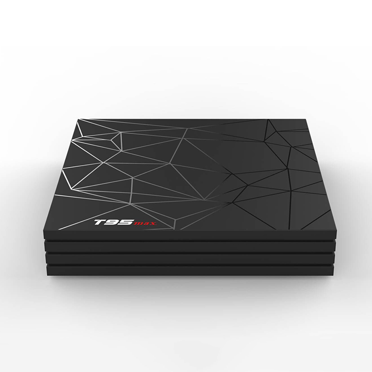 Fabbrica OEM 6K Android 8.1 TV box T95 MAX 2GB + 16GB Allwinner H6 Quad-core 2.4G WiFi di Sostegno di trasporto video in streaming