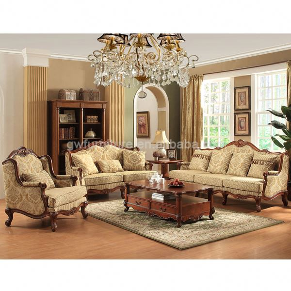 Clic Italian Antique Living Room Furniture Cherry Wood China Cabinets