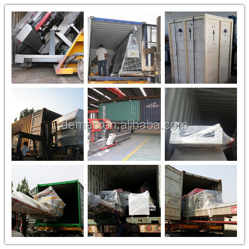 Alibaba express aluminum window door fabrication up cutting machine