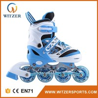 Blue speed roller skate aggressive wheels mens rollerskate size 14