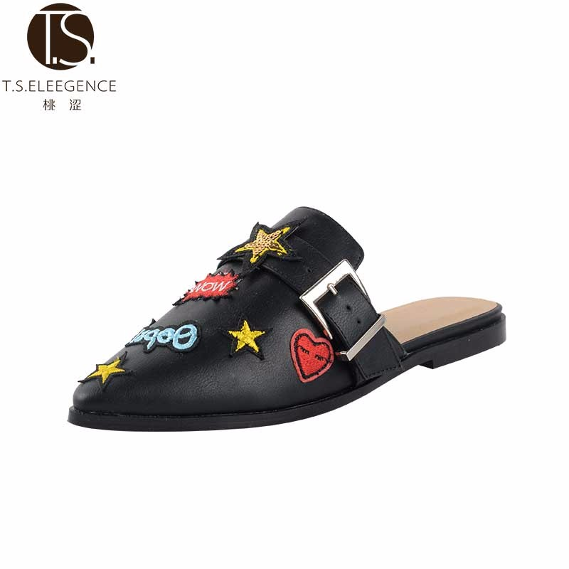 2017 Women bose quiet comfort PU leather Woman slipper shoes lady