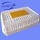 Leon hot selling plastic chicken delivery crate for chicken transport