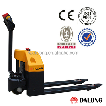 1500kg Capacity, Full Powered Pallet Truck, CURTIS Controller