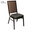 Newest design imitated fabric PU leather royal Foshan banquet chair