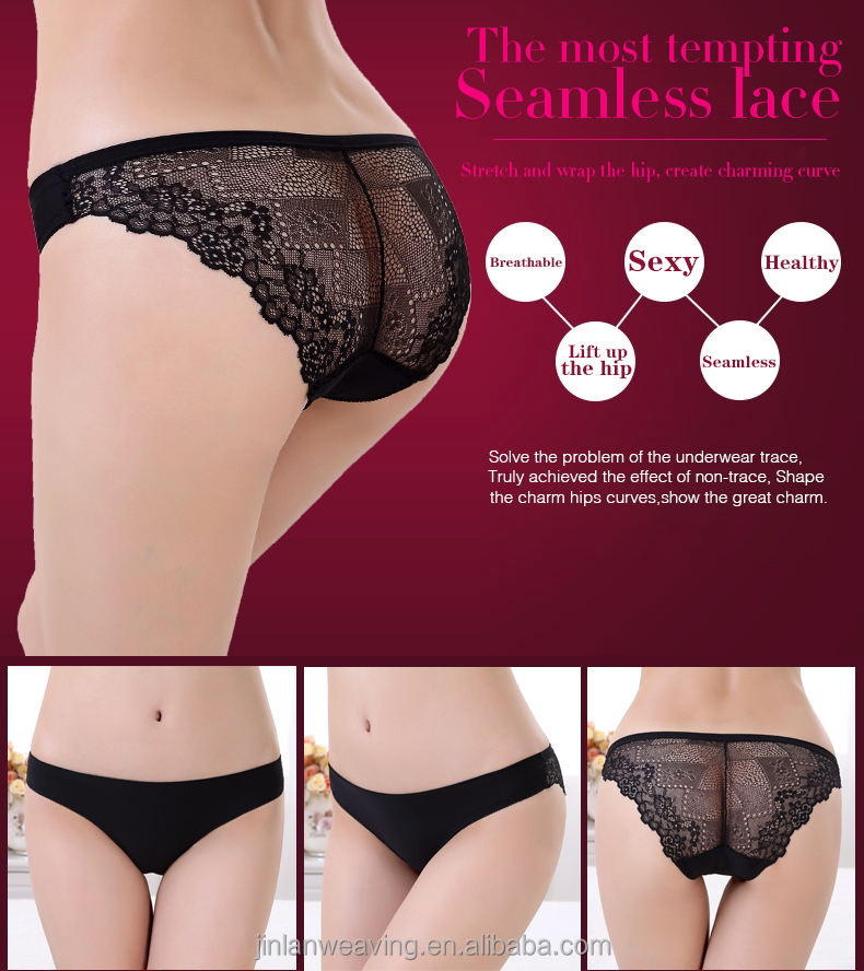 Zhudiman Sexy lace transparent briefs model 7007