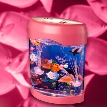 Light Pmma jellyfish jellyfish Mysterious Jellyfish Rgb Led Lamp Box Jellyfish Office For Pink Buy Light P80wnOk