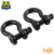 CE certificate US type forged black powder coat bow shackle