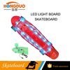 Cheap price Led deck longboard Led light skateboard OEM skateboard