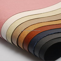 hot sale microfiber leather for automotive, sofa and shoes usage with many different design
