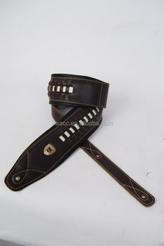 leather guitar strap /leather strap