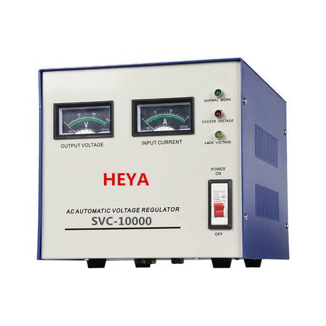 Canton Fair China (CE certification) servo type svc 10000 watts avr automatic voltage regulator