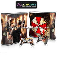 Colorful Skin For Xbox360 Slim Console Skin Sticker For Xbox 360 ...