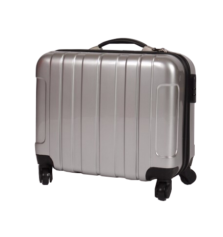 rigid multifunction abs trolley laptop bag suitcase