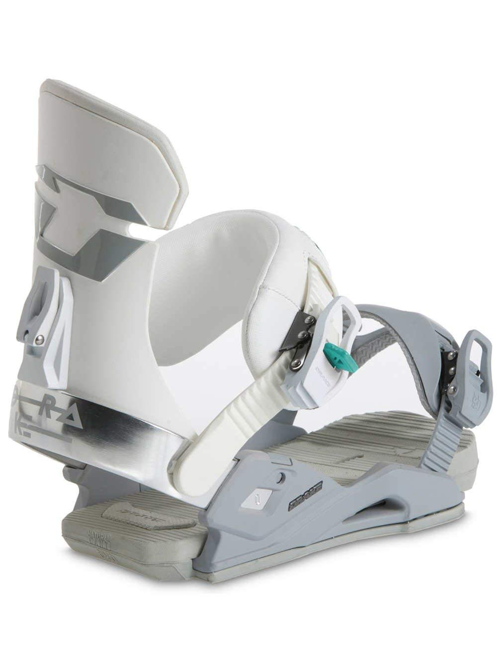 0587a1aff33 Get Quotations · Drake Women s Snowboard bindings DL white
