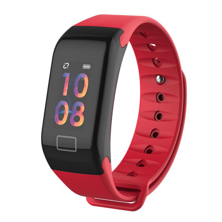 F1 Smart Bracelet Band Wristband Fitness Tracker F1 BT4.0 Smart band IP67 Heart Rate blood pressure Color OLED display