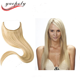 100% brazilian remy human hair wholesale double drawn fish wire hair