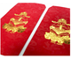 Custom Chinese Style New Year Red Packet Hot Stamp/Embossed Lucky Money Envelope Gift Envelope