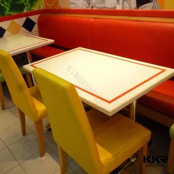 Saudi Arabia design acrylic solid surface stone dining table sets & Saudi Arabia Design Acrylic Solid Surface Stone Dining Table Sets ...