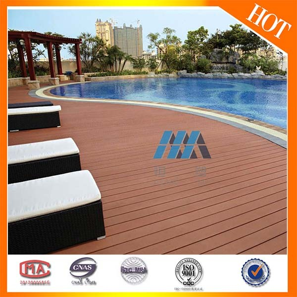 New Product ! New tech treated wood outdoor wood decking replace merbau wood decking