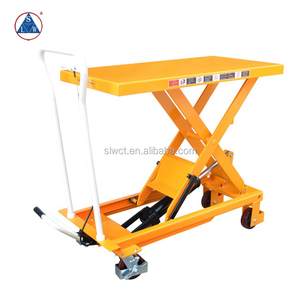500kg Portable Manual Hydraulic Scissor Lift Dolly