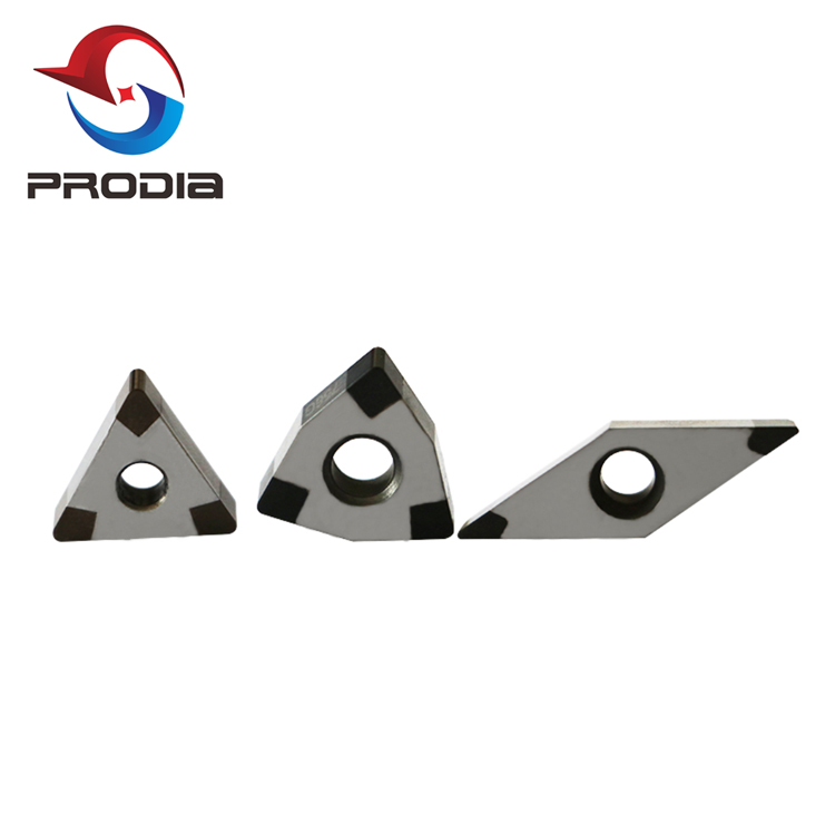 CNC Metal Cutting Tool Indexable Inserts Diamond Turning Tool PCD/CBN Cutting Inserts